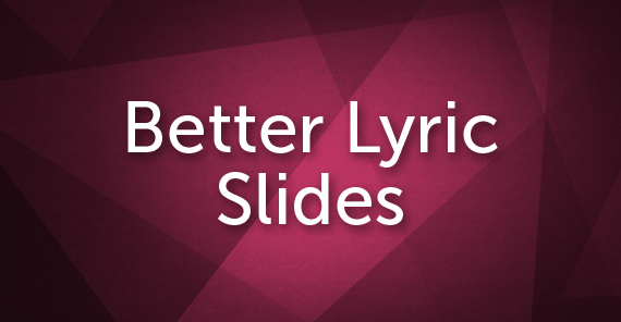 TCP-Better_Lyric_Slides