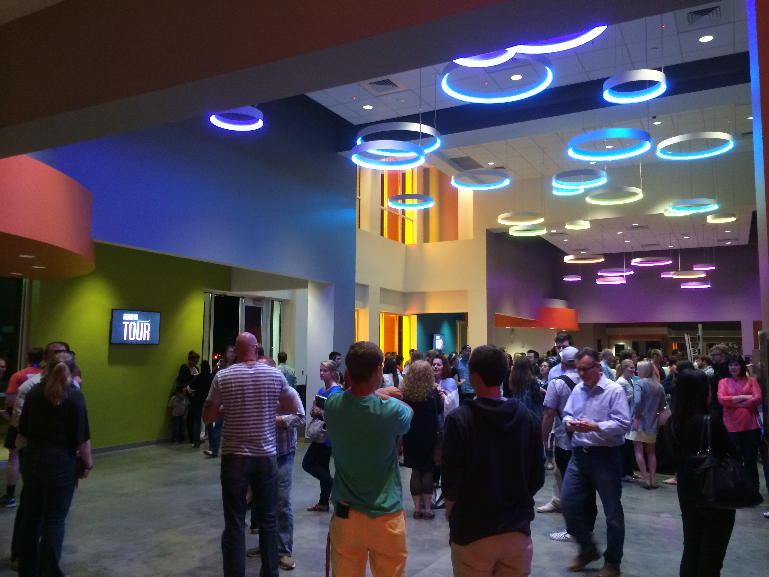 Elevation Church Lobby