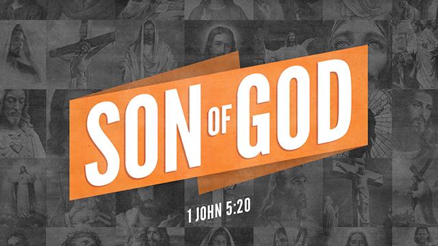 Son of God Sermon Slide