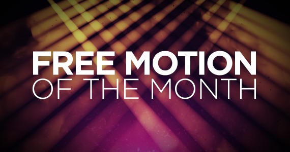 Free Motion of the Month