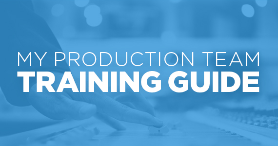 My Production Team Training Guide