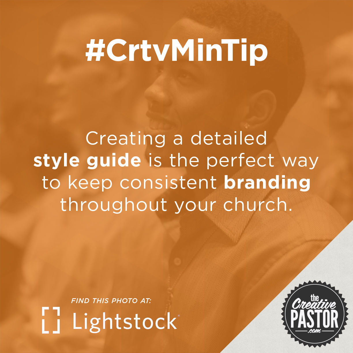 Creating a detailed style guide is the perfect way to keep consistent branding throughout your church.