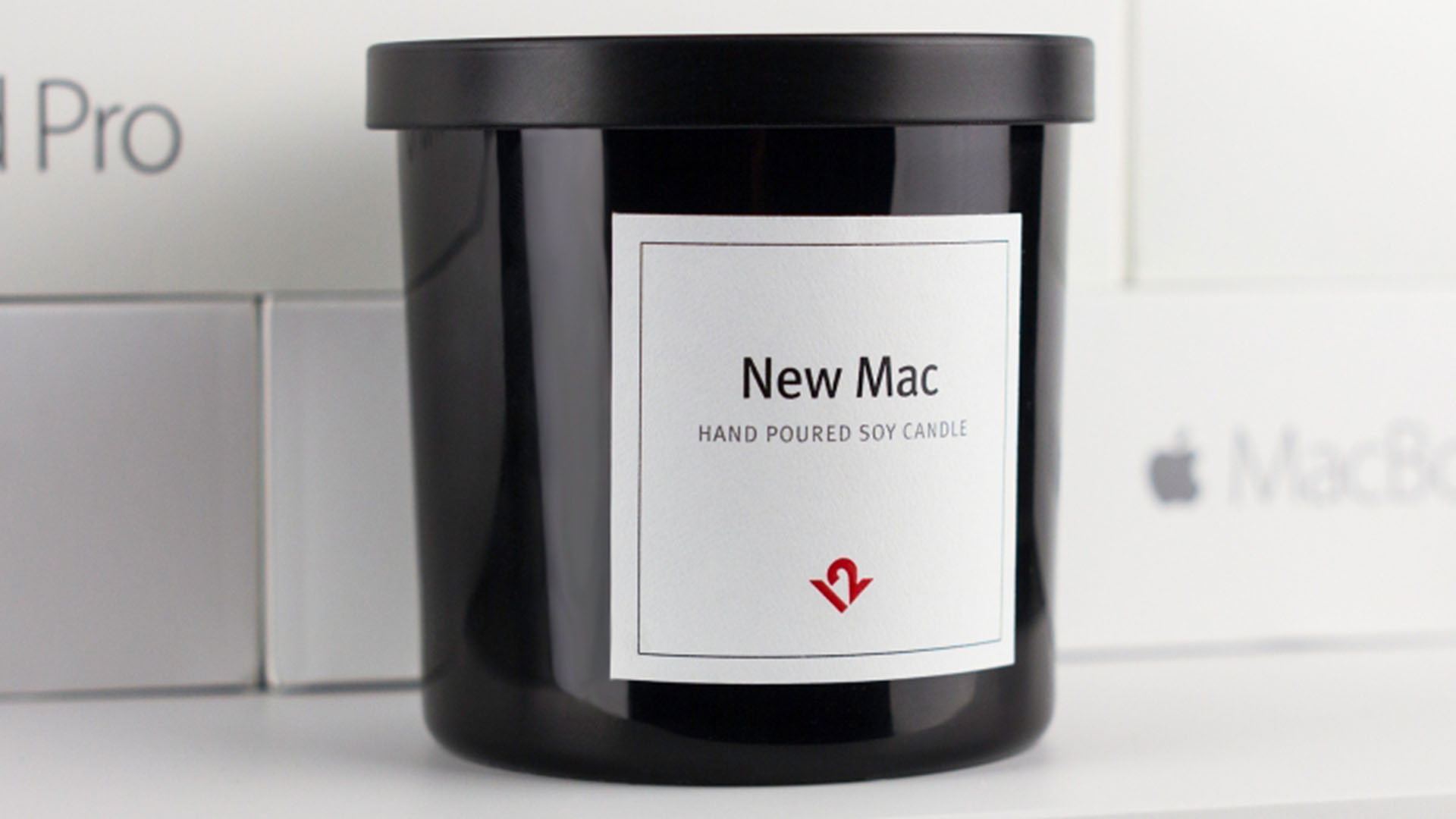 """New Mac"" Scented Candle"