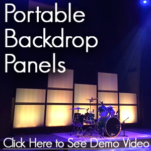 Portable Backdrop Panels
